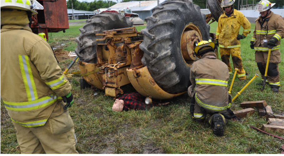 Farm Extrication Training